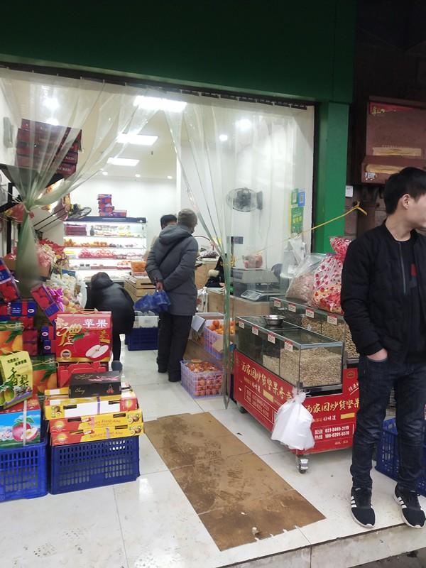 汉阳琴台大道小区门口水果店转让