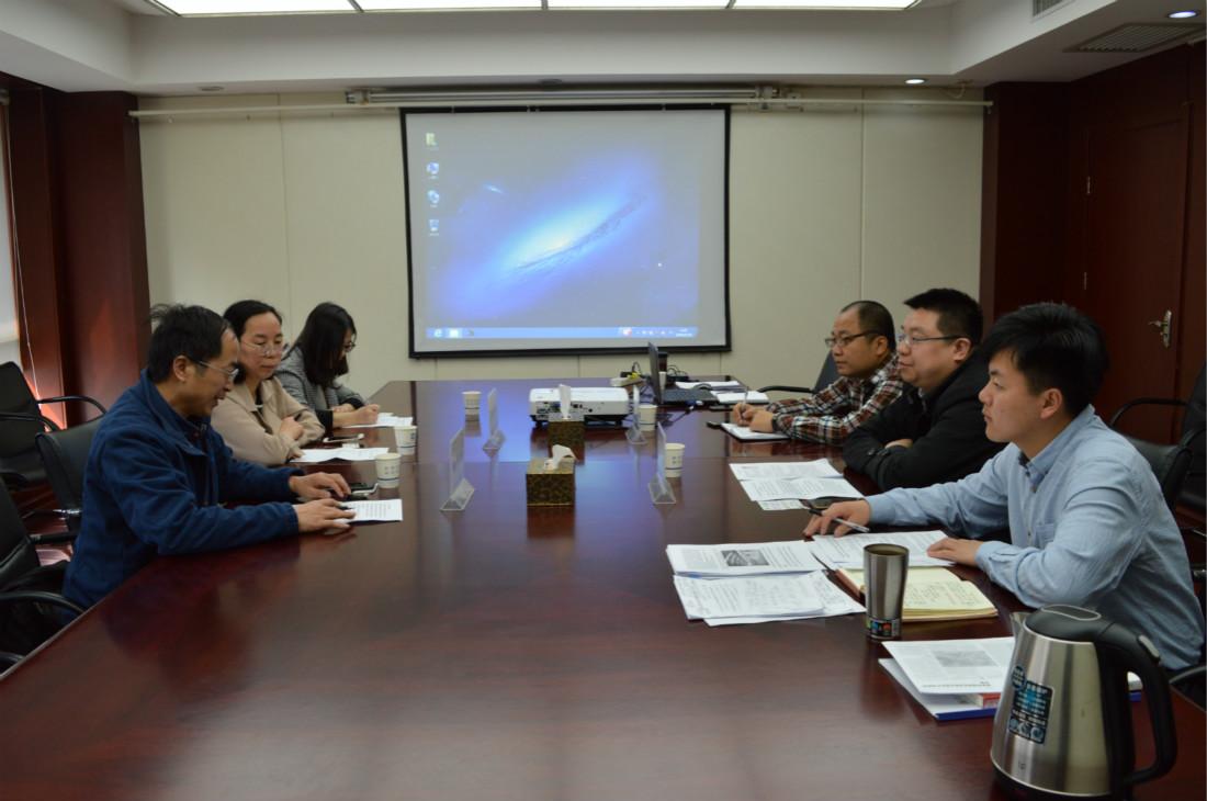南北工业科技大学徐怀德执教团队与ManBetX体育洽谈校企合作