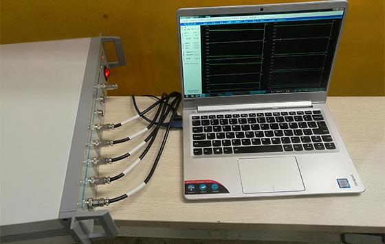 铝合金焊接温度场测试-中车南京铺镇车辆有限公司