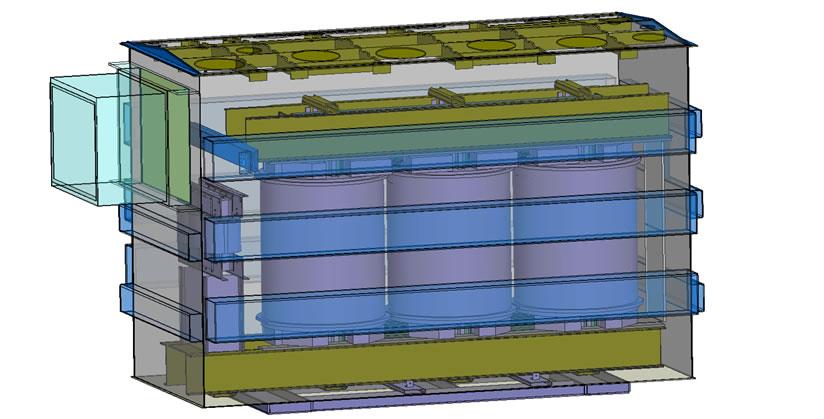 230 kV变压器CAD模型