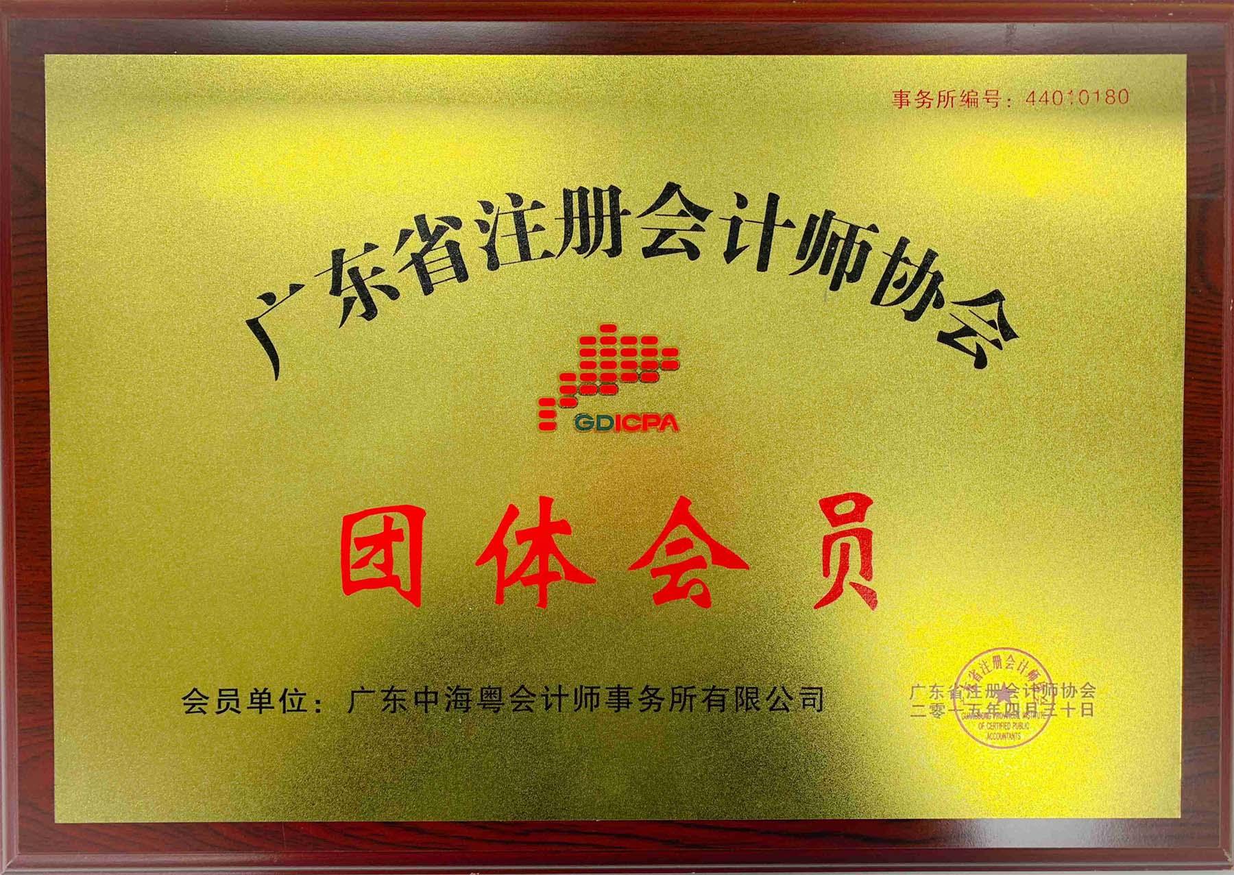 省注册会计师协会会员