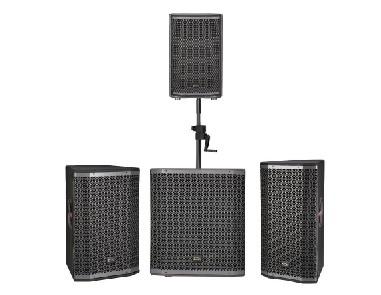 有源三分频同轴DSP音箱 GC系列