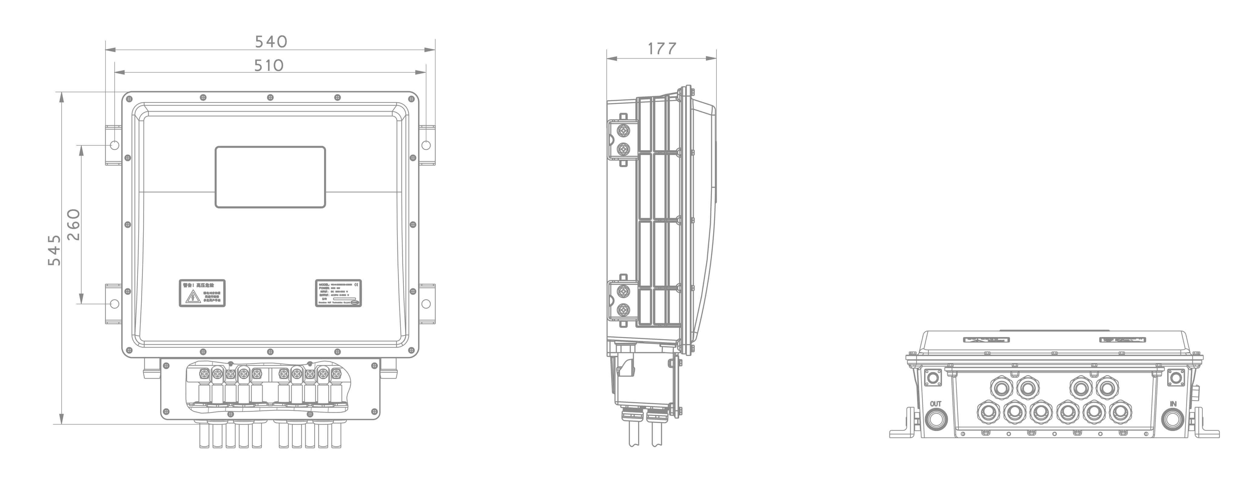 V6-H-4D110G & V6-H-4D110G/ V6-H-2D55G & V6-H-2D55G