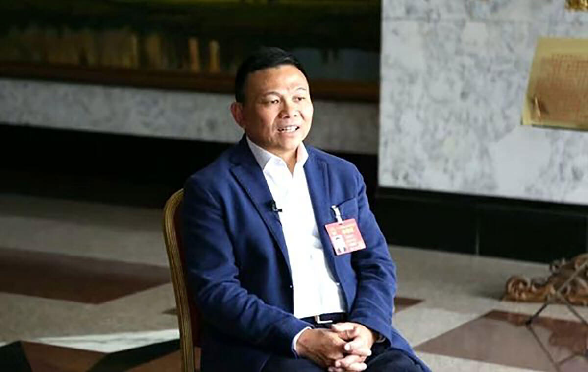 郑坚江:浙商是新时代商战中的雄鹰