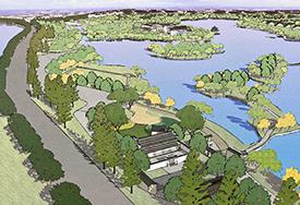 萧湖概念景观规划