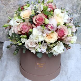 Flower box Round box