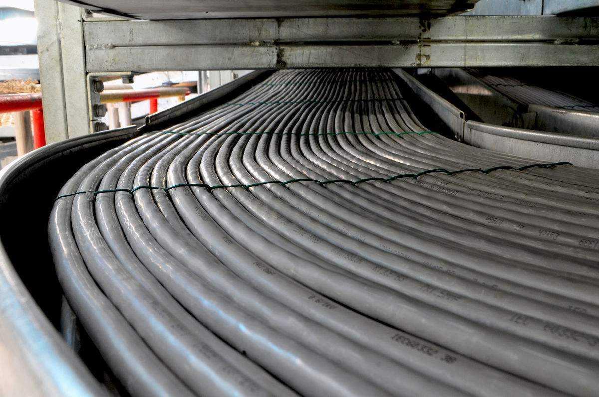 电缆排布工艺