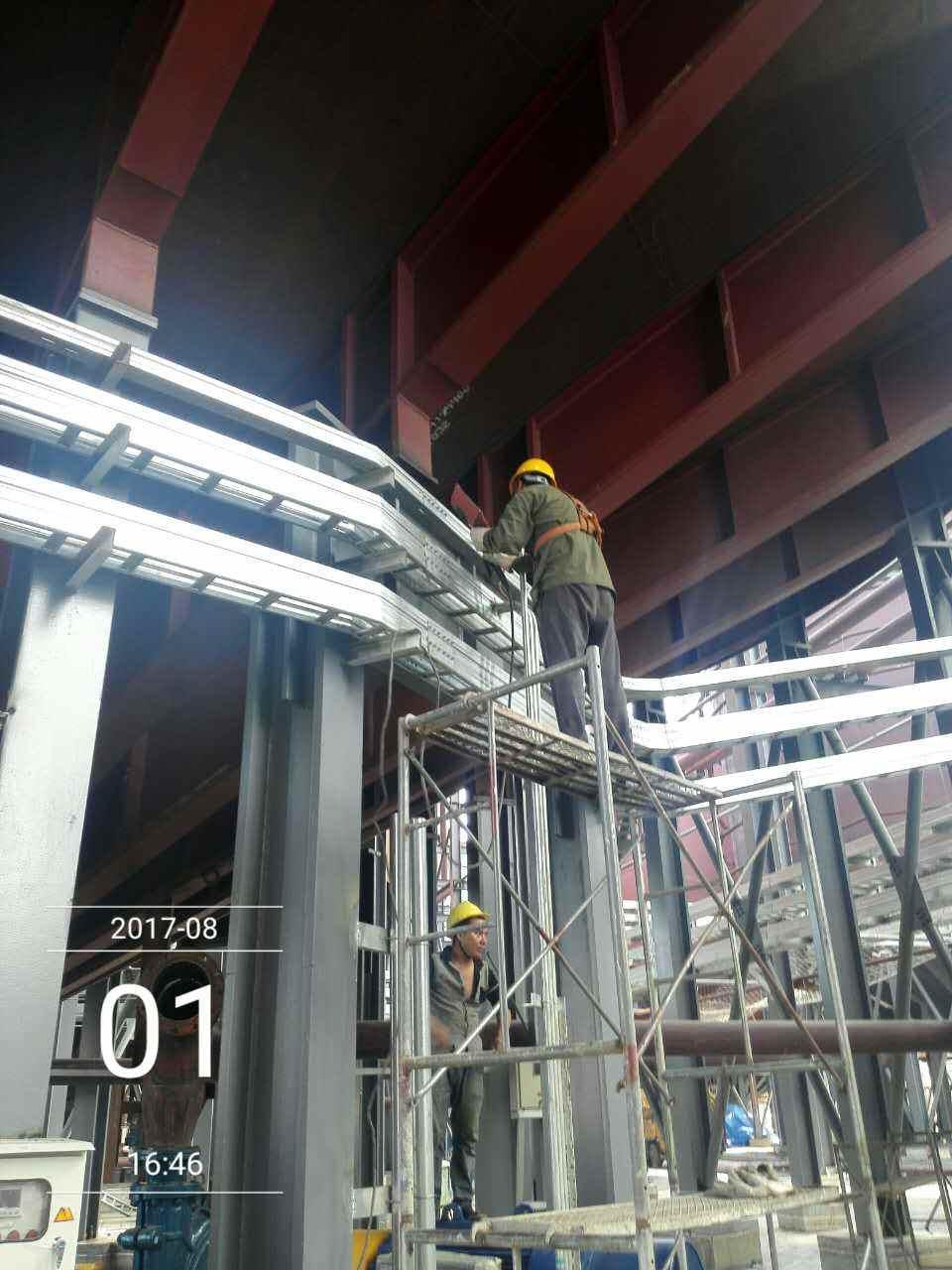 桥架焊接施工
