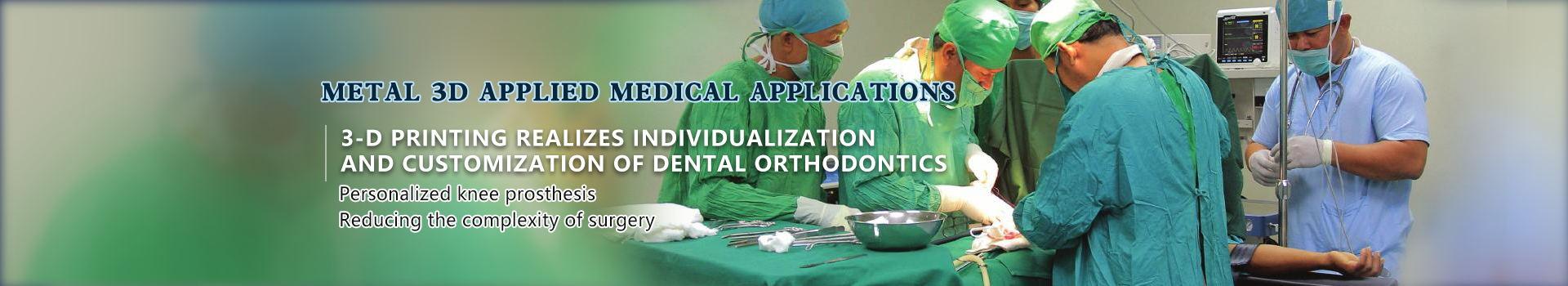 Medical oral application