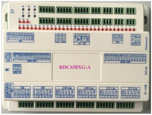 睿达发布脱机激光切割系统RDC6585G、激光控制器RDC6445GZ