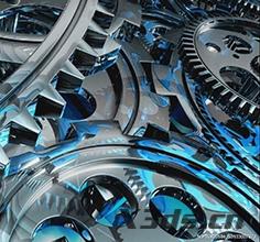 大型机械齿轮三维扫描