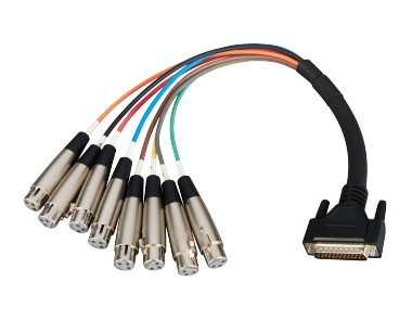 DB-25 To Multi-cable