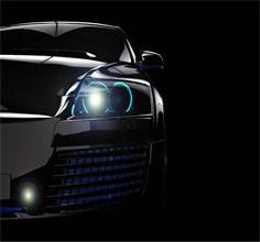 汽车车灯模具三维检测案例