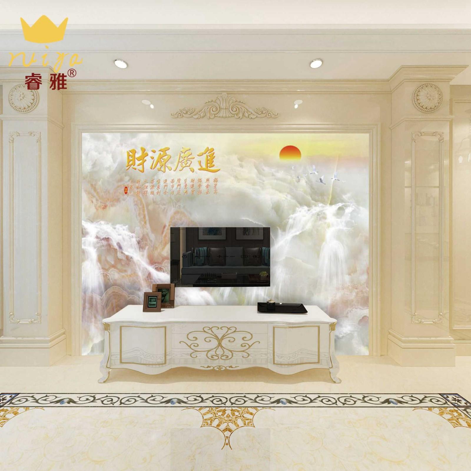 财源广进035 工艺:高温微晶800砖 165元/m²