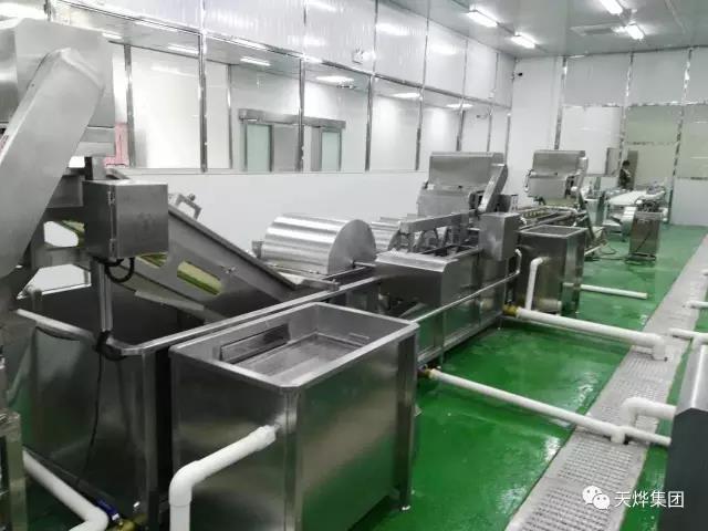 年生产3600万份营养餐的中央厨房