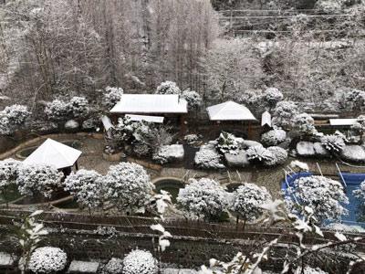 大邑西岭雪山