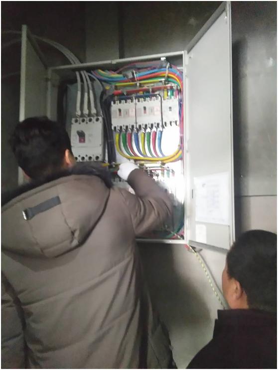 大中汽国际车城园区开展安全用电大检查行动