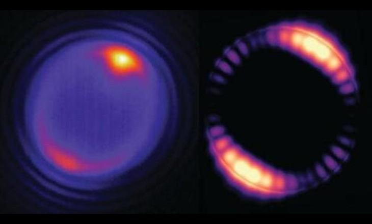 美科学家实现纳米颗粒覆盖的激光微球上转换红外光