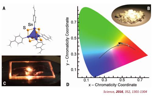 新材料将红外激光转换成可见光