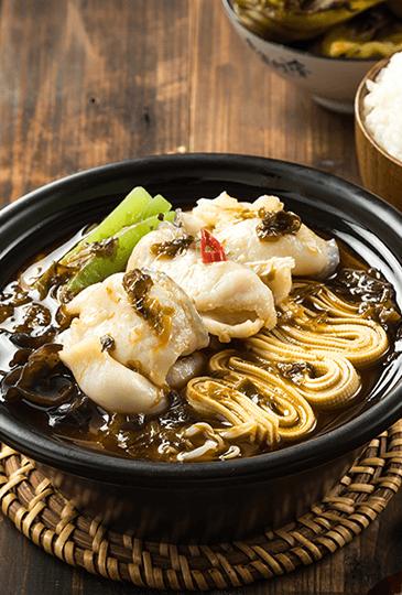老坛酸菜鱼饭