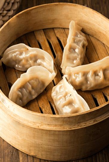 鲜肉玉米蒸饺