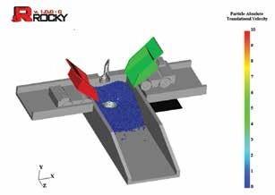 Rocky颗粒流动运动分析工具