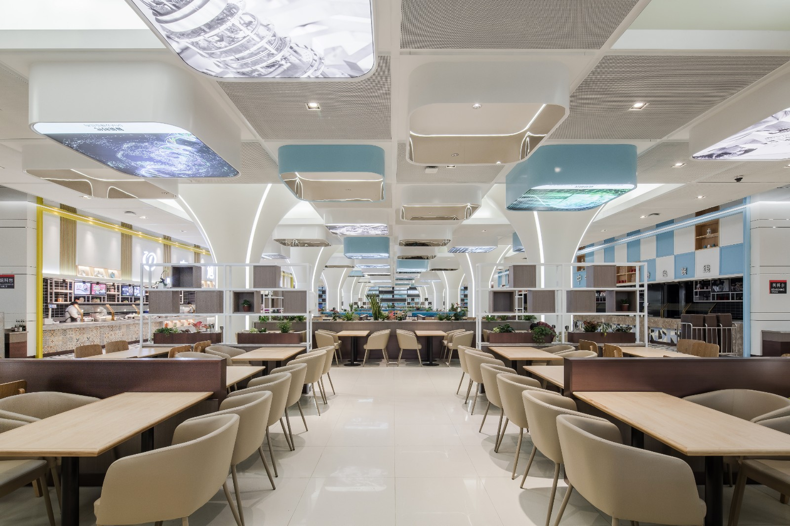 华为深圳坂田D4员工餐厅