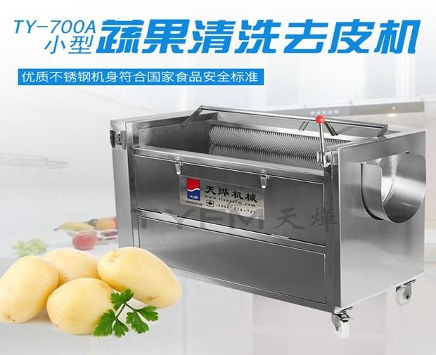 TY-700A  小型蔬果清洗去皮机