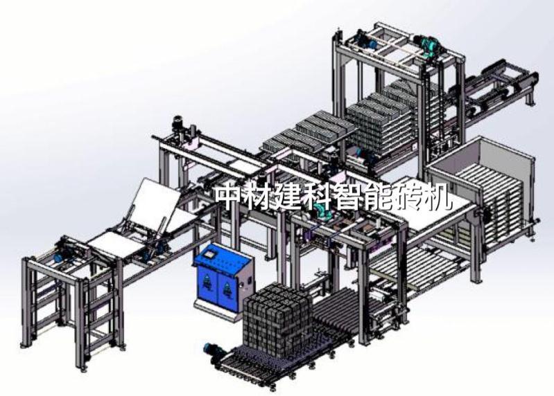 QTY9-18型液壓全自動磚機
