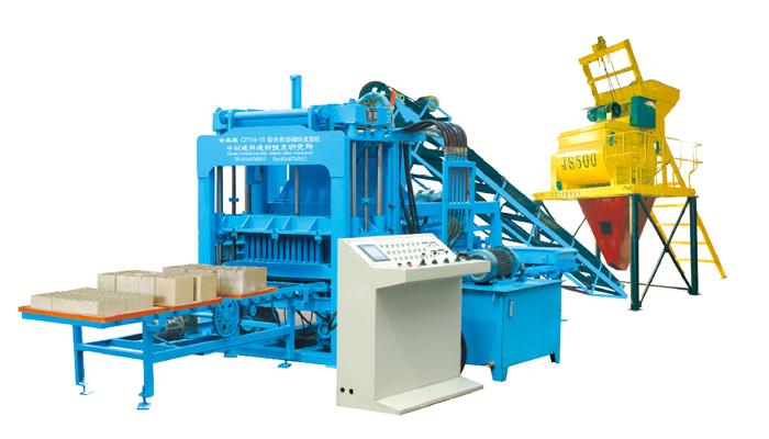 QTY4-15型液压全自动砖机