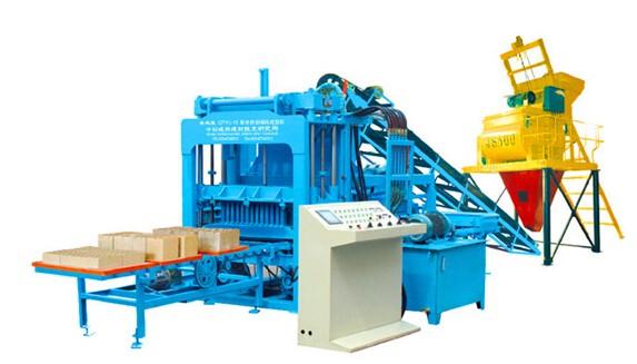 QTY5-15液压全自动砌块砖机