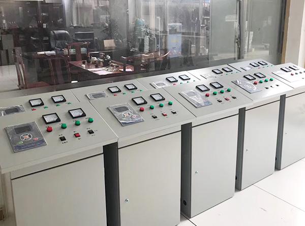 """汕头普宁丽达集团的""""锅炉变频节能的PLC组态控制项目"""""""