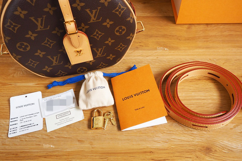 正品开箱M52294 LV Boite Chapeau 手袋 超可爱LV圆饼包,LV必买包款!