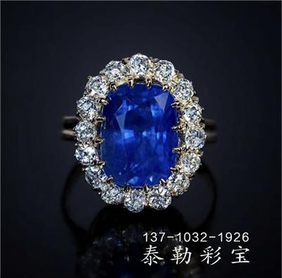 为何英国皇室家族对蓝宝石有如此大的宠爱