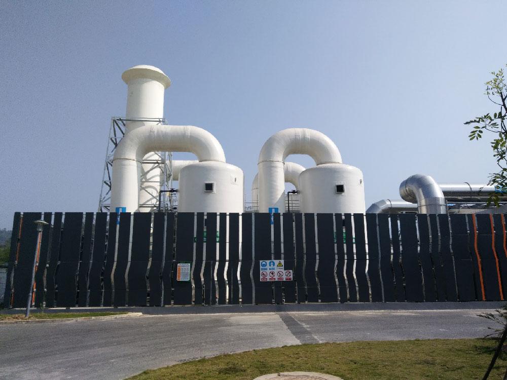 深圳市上洋污泥处理厂除臭改造工程案例