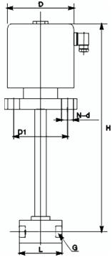 进口螺纹低温电磁阀