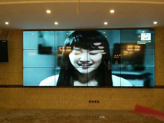 自贡某娱乐会所液晶拼接项目