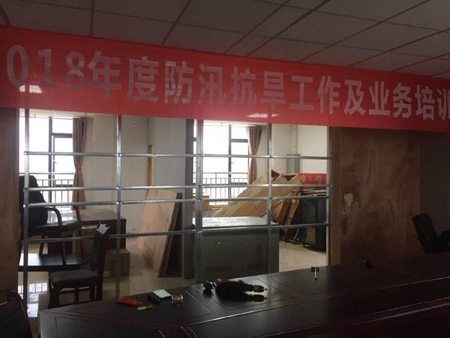 广安国际防汛办液晶拼接项目