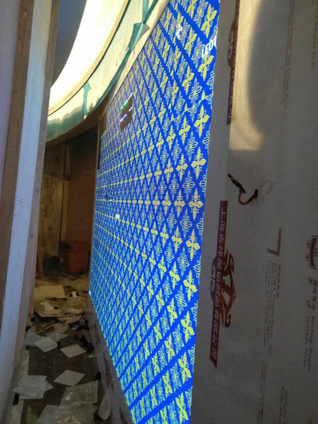 成都王府井LED大屏显示项目
