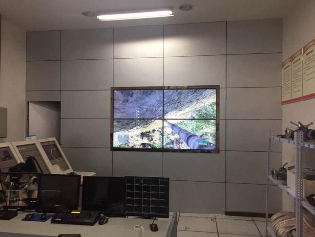 资阳城乡规划馆42寸液晶大屏拼接项目