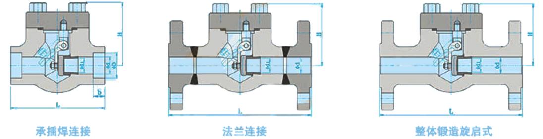 进口焊接低温止回阀