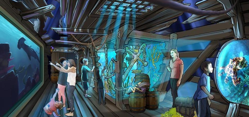 虚拟海洋馆