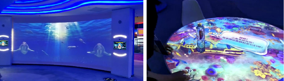 日照海洋馆·互动投影项目