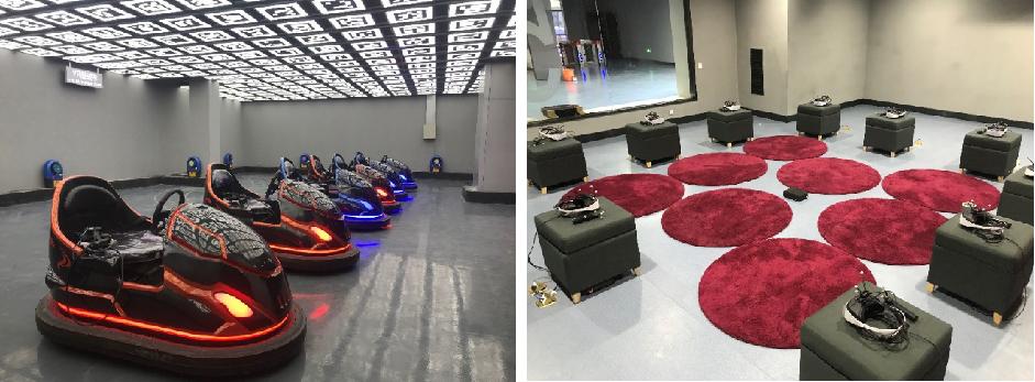 南昌VR之星·VR多人大空间及VR教育项目