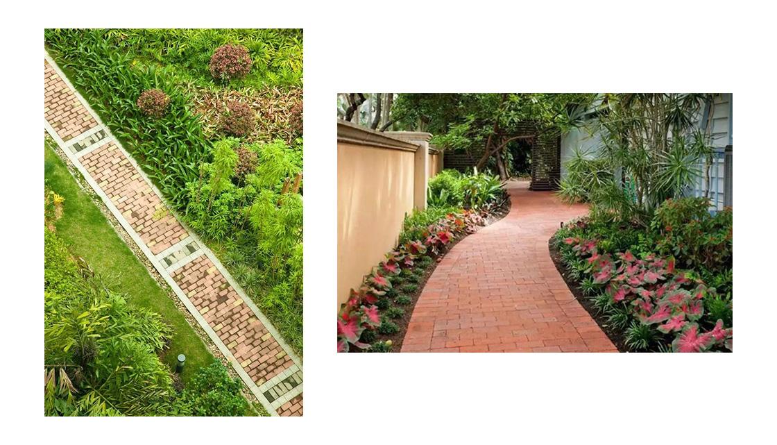 园艺砖,给庭院沉淀的美感