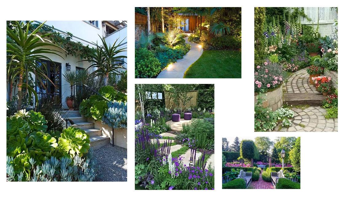这样配植物庭院更美