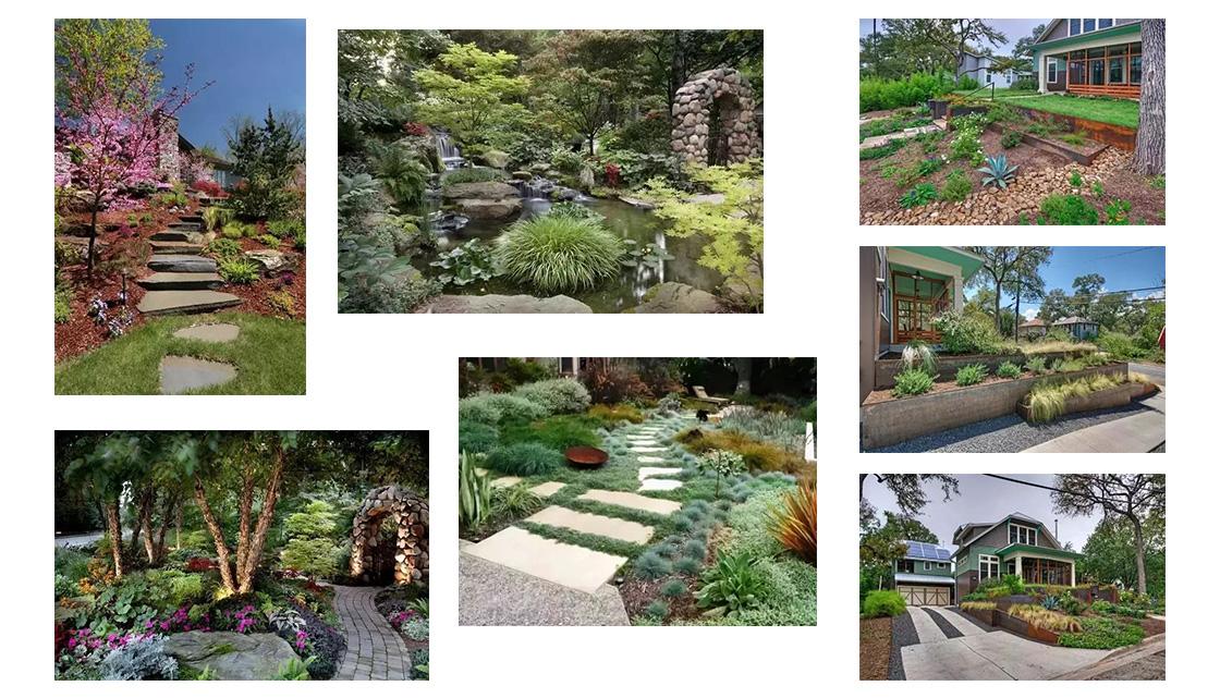 庭院景观,高差这样处理才美