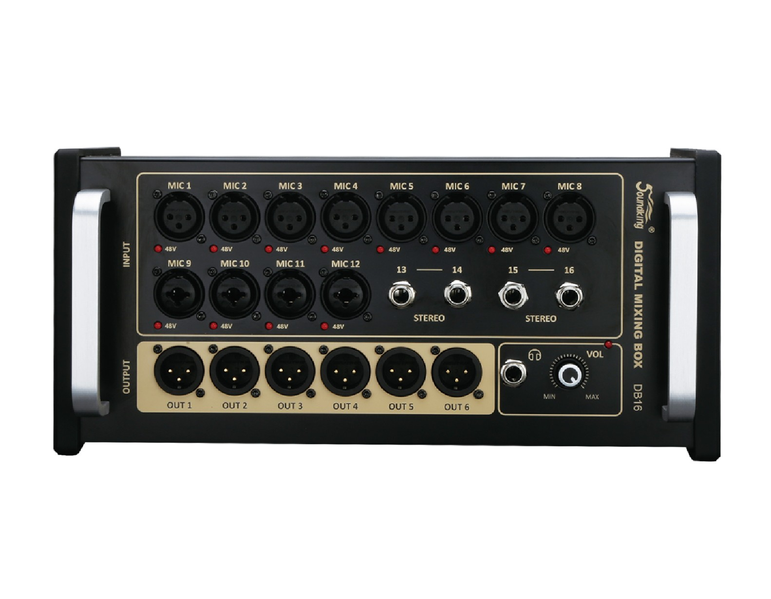 机架式数字调音台 DB16