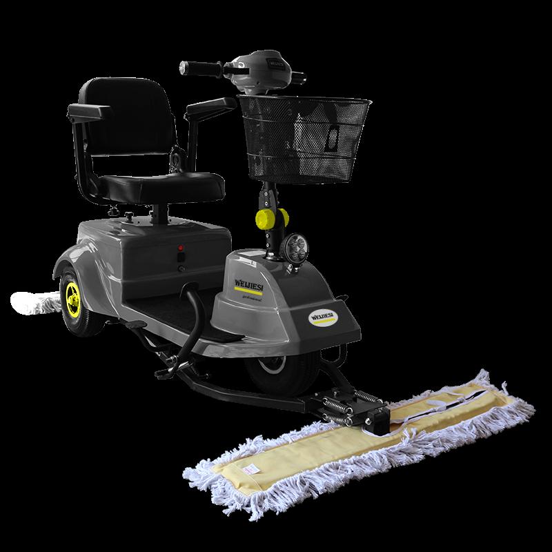 WJS-CT1驾驶式三轮尘推车