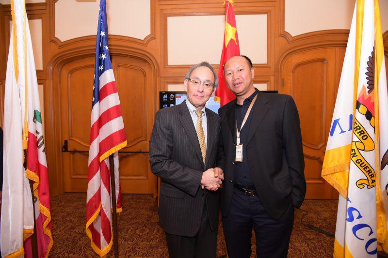 20150424陈贤信董事长会晤美国能源部前部长朱棣文